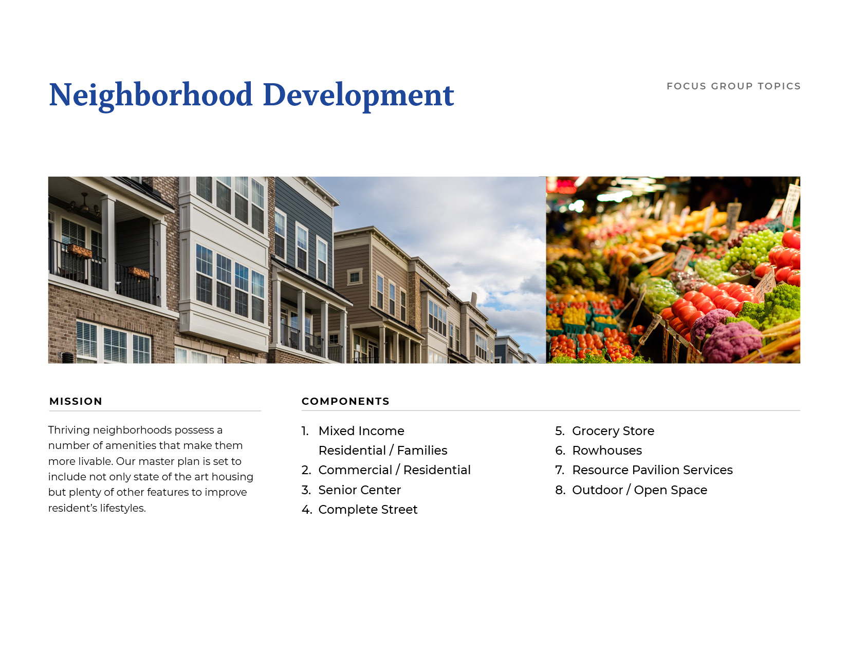 Neighborhood Development Board
