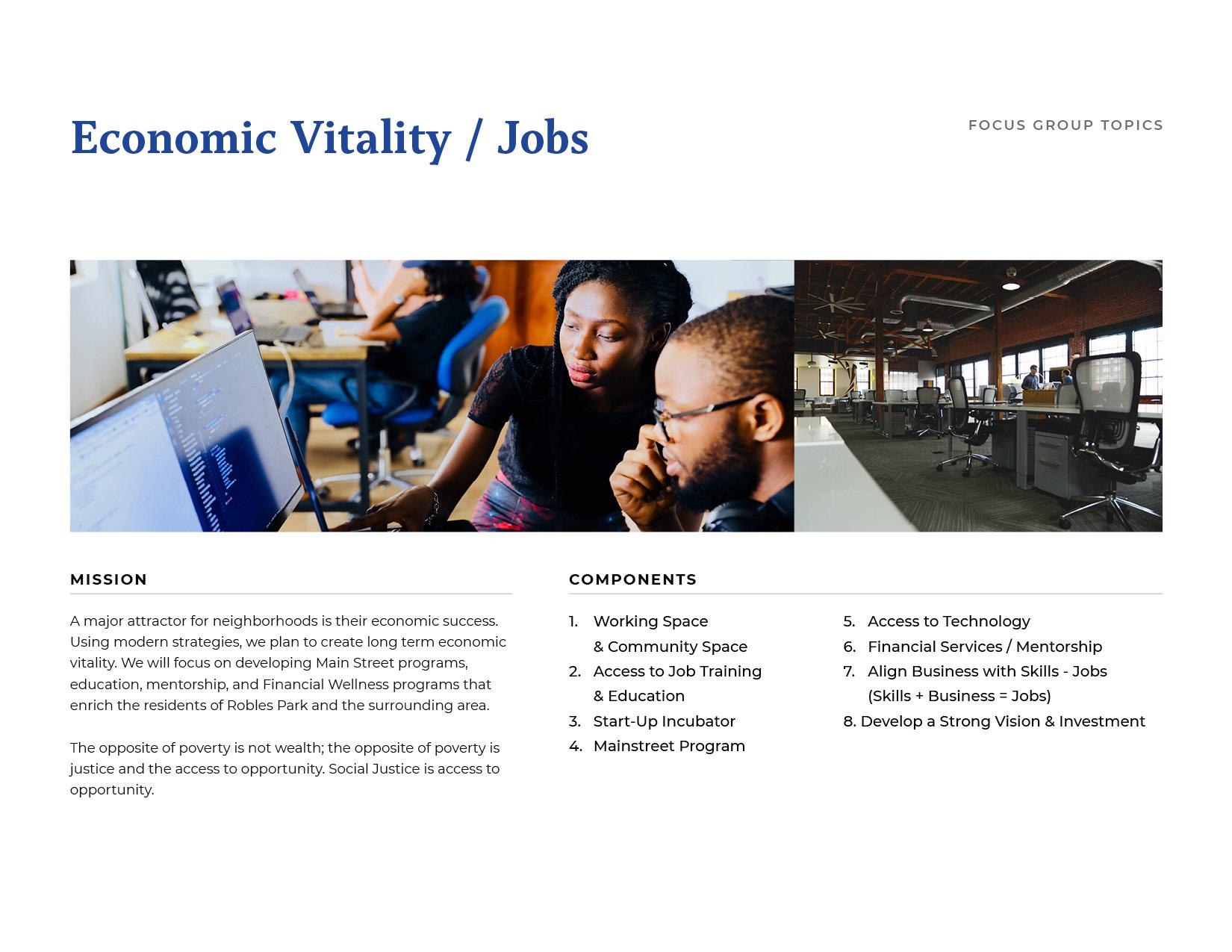 Economic Vitality Board